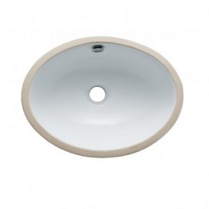 Large White Oval Sink