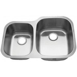 40/60 Offset Sink
