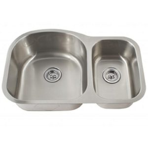 70/30 Offset Sink